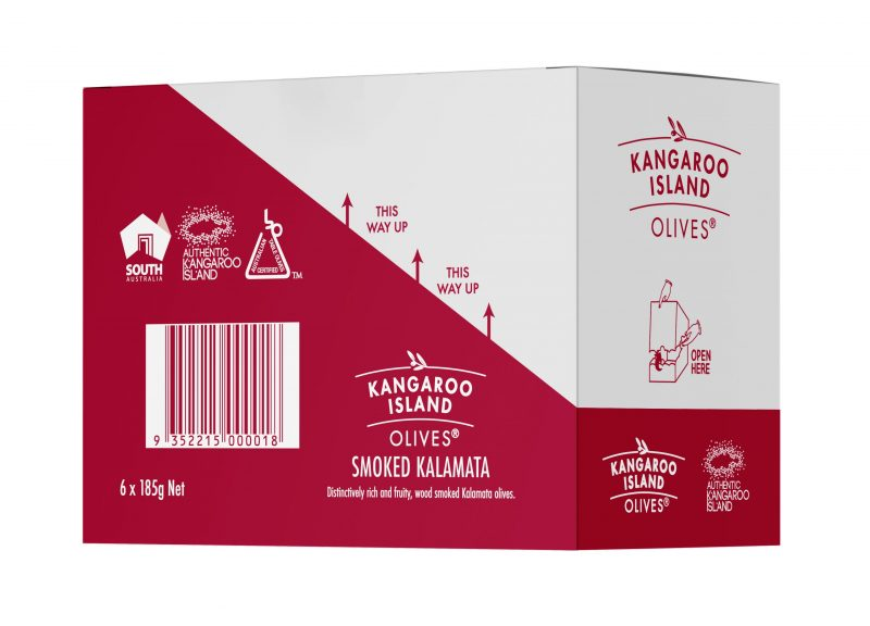 smoked kalamata olives box