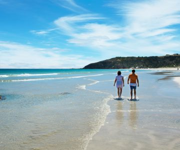 kangaroo island beach walk